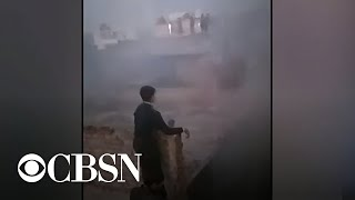 Dozens dead after factory fire in Delhi