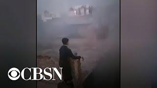 Dozens dead after factory fire in Delhi