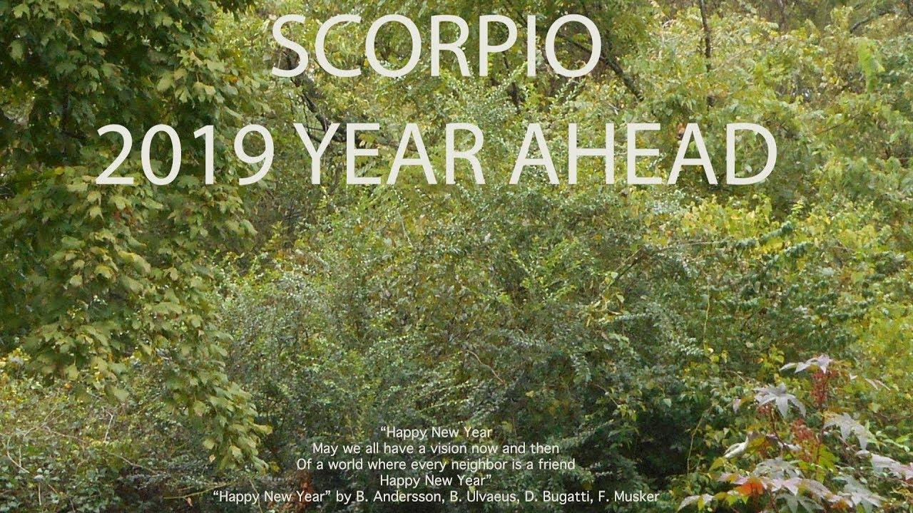 Scorpio 2019 YEAR AHEAD SNEAK PEEK FORECAST