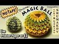 Origami Magic Ball - NO TAPE!!!