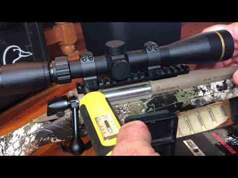 Scope Mounting CVA Cascade Rifle