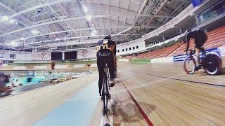 Командная тренировка TriStyle на велотреке в Минске