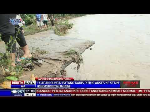 3 Rumah di Mandailing Natal Rusak Dihantam Banjir