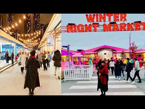 Winter Night Market 2019   Queen Victoria Market   Melbourne   Australia   Mansi