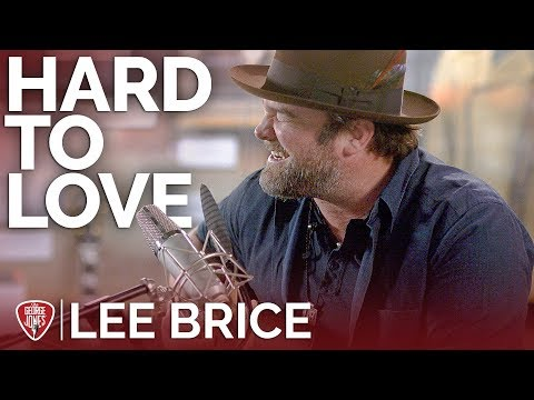 Lee Brice - Hard To Love (Acoustic) // The George Jones Sessions