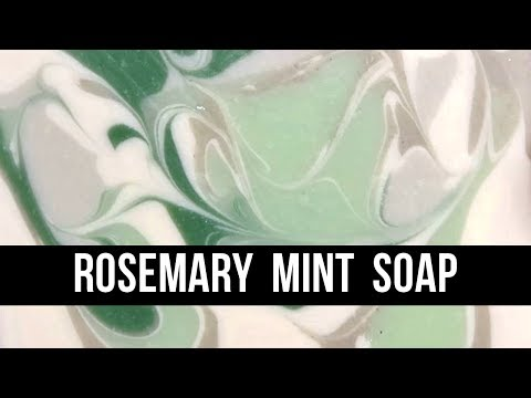 Rosemary Mint Soap { Inspired by : Design Seeds } | Royalty Soaps