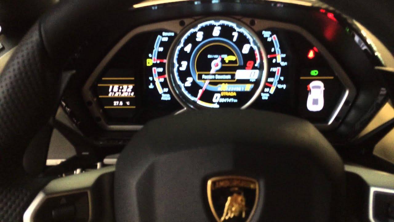 Advantage Max 4 Hd Wallpaper Lamborghini Aventador Lp700 4 Interior And Start Up