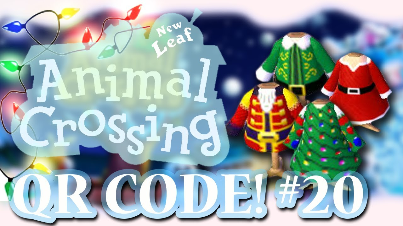ANIMAL CROSSING: NEW LEAF - QR CODES - CHRISTMAS SPECIAL! (EPISODE ...