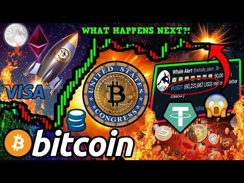 BIG News for BITCOIN!! $60 MILLION USDT MINTED... What For?! NEW US Crypto Tax Bill