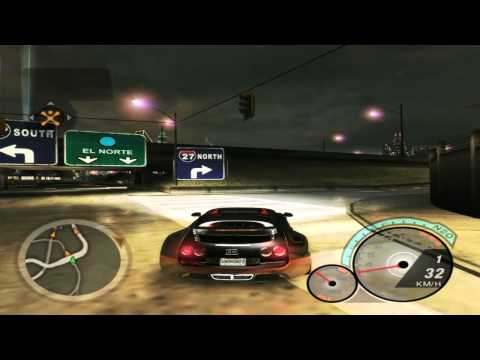 bugatti veyron 400km h nfs underground 2 youtube. Black Bedroom Furniture Sets. Home Design Ideas
