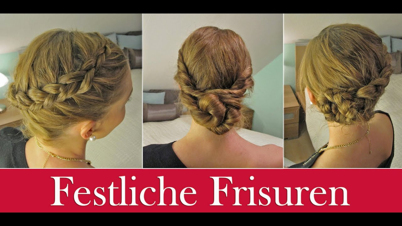 ✰Festliche Frisuren✰ YouTube