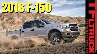 2018 Ford F-150 Sneak Peek: Everything We Know About The Engines And Design