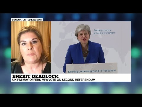Brexit deadlock: UK PM May offers MPs vote on second referendum