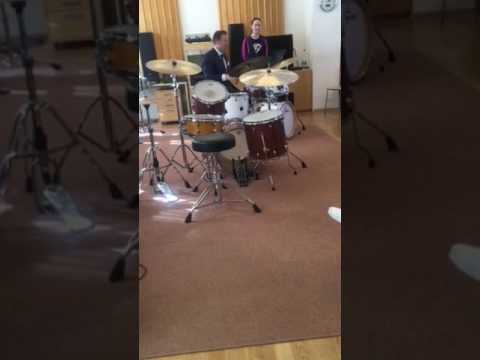 Joe Farnsworth Drum Clinic March 29, 2017 - KUG in Graz, Austria