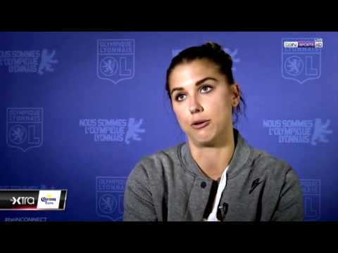 """D1 Feminine - Alex Morgan """"A Lot Makes Me Wanna Stay"""" (EXCLUSIVE Bein Sports Interview Pt. 1) 4-4-17"""