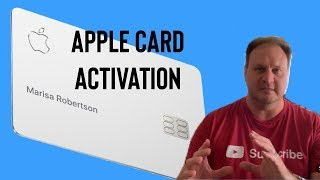 How to Activate your Titanium Apple Card Video