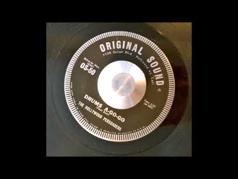 THE HOLLYWOOD PERSUADERS - DRUMS A GO-GO - Original Sound