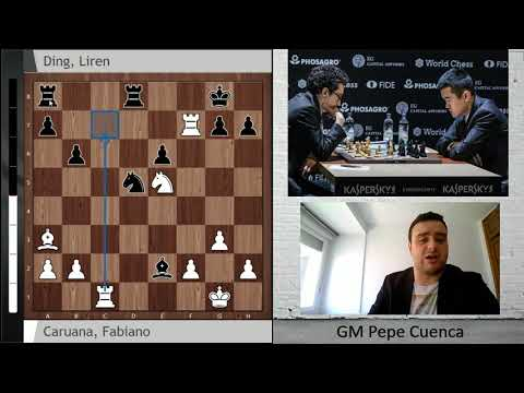 Caruana-Ding, Berlin Candidates 2018 Round 9 Recap with Pepe Cuenca: What a drama!