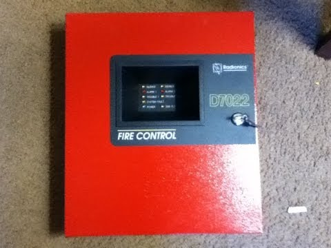 New fire alarm setup with panel!!
