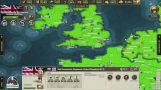Call of War 1942, 22 Player Map Let's Play, Day 44 EP23