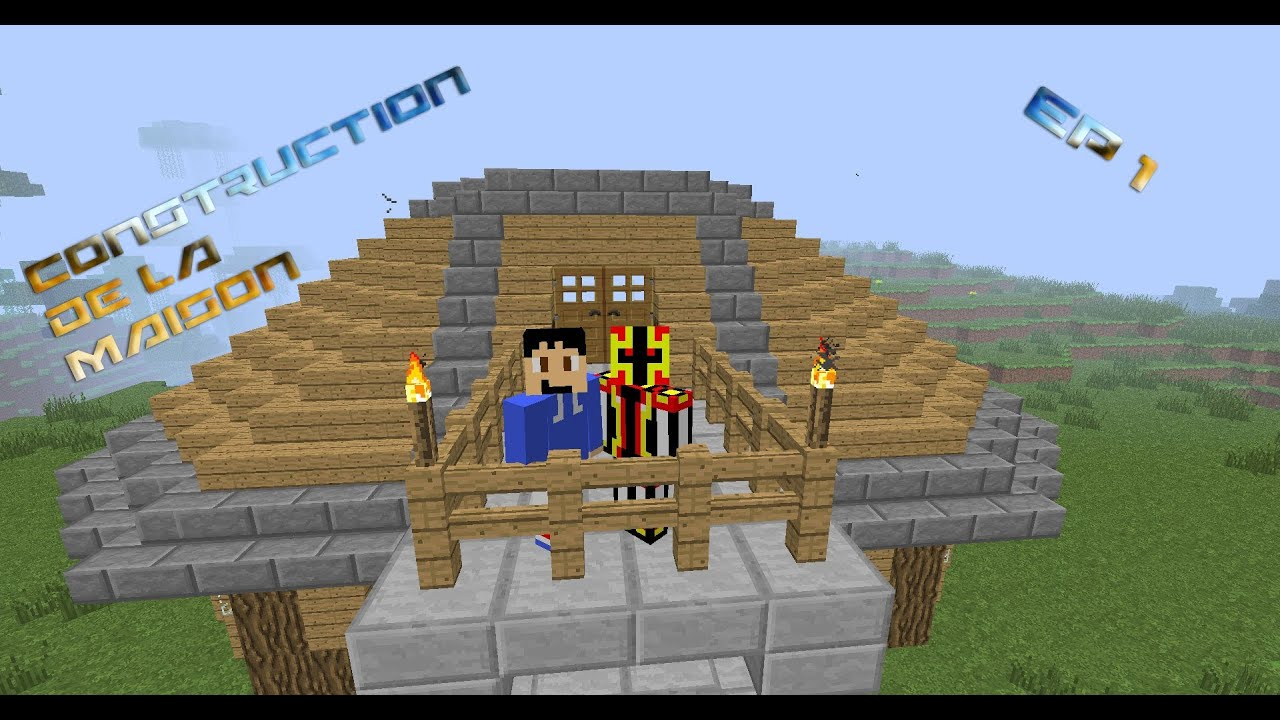 Comment faire un belle maison sur minecraft ep 1 youtube - Comment creer une belle maison sur minecraft ...