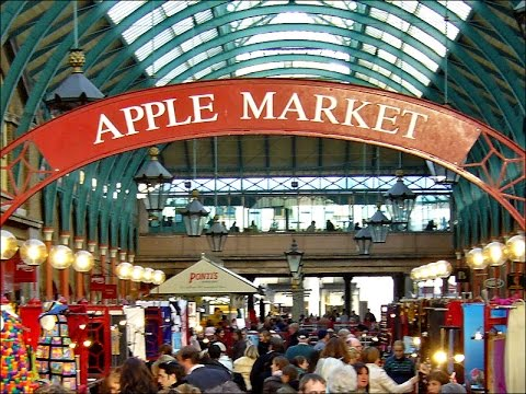 COVENT GARDEN - APPLE MARKET- LONDON 2015 Full HD