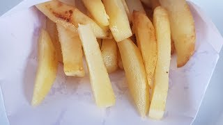 Instant French Fries Recipe | Homemade crispy french fries | My Kitchen My Dish