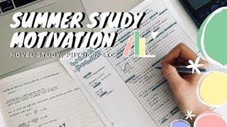 Summer Study Motivation || revisign