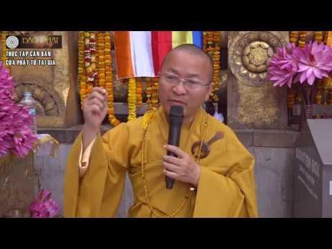 Thực tập căn bản của Phật tử tại gia