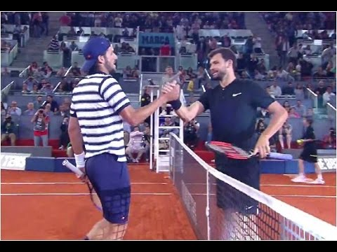 Grigor Dimitrov vs. Feliciano Lopez [10-7] Tie Break Tens Madrid (F) 04.05.2017. & Presentation