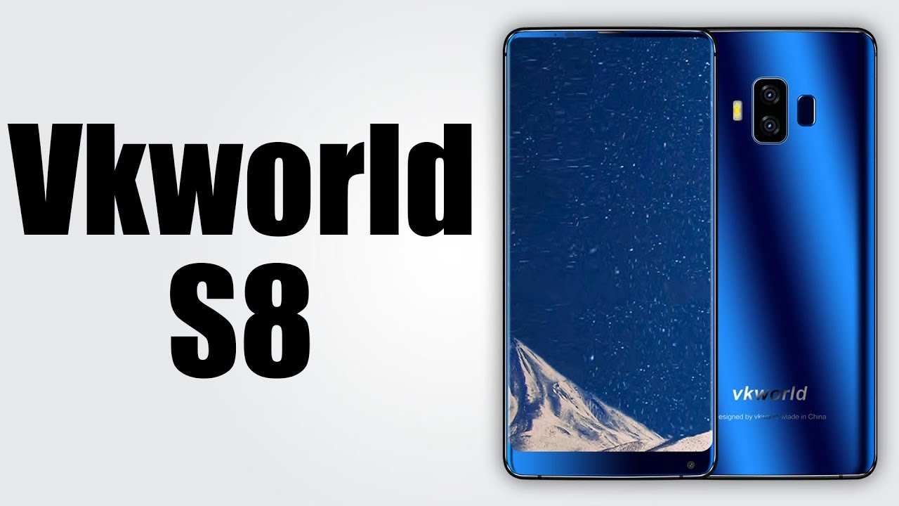 9bc626f9533 Vkworld S8 - 5.99 inch   Android 7.0   4GB RAM + 64GB ROM   16.0MP + 5.0MP  Dual Rear Cameras