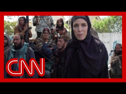 Clarissa Ward: Taliban told me to stand to the side 'because I'm a woman'