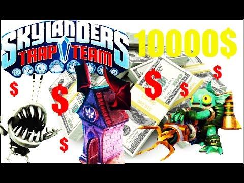 how to get 10000 in skylanders trap teamno chomp chest