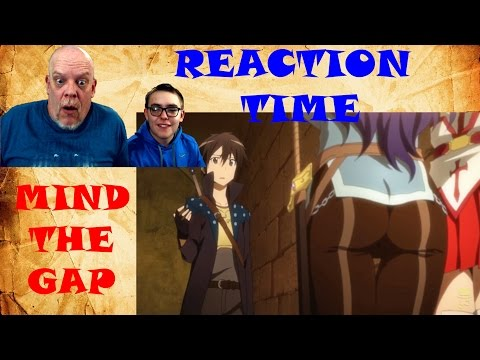 "REACTION TIME ""SAO Abridged Parody 5"" - One Of The Greatest Gaps Ever"