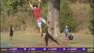 Nikko Locastro sinks the albatross at the US Disc Golf Championship, a breakdown