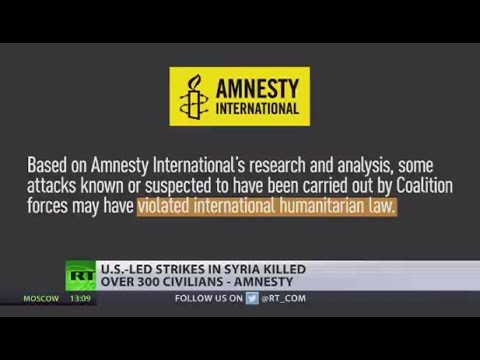 US-led coalition killed 300 Syrian civilians in 11 probed strikes – Amnesty