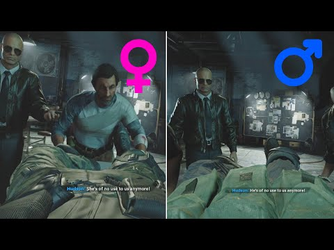 Female vs Male vs Non-Binary - Call of Duty Cold War