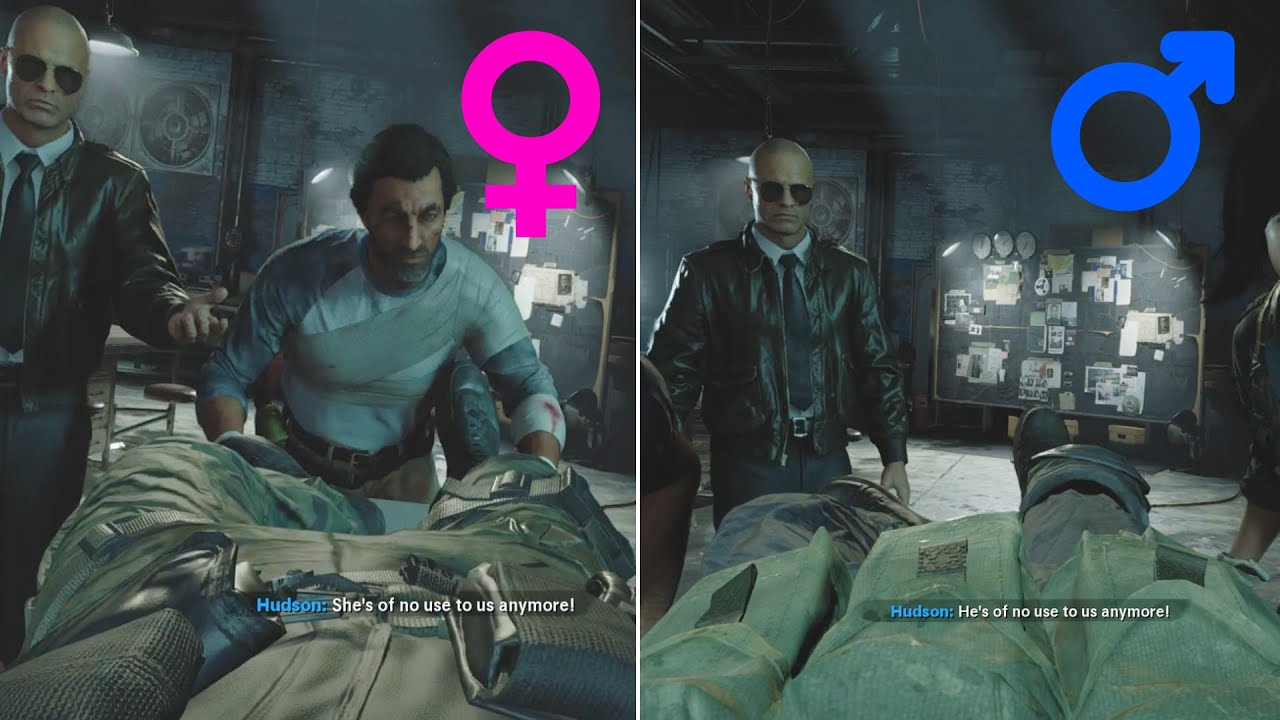 Female vs Male vs Non-Binary - Call of Duty Cold War