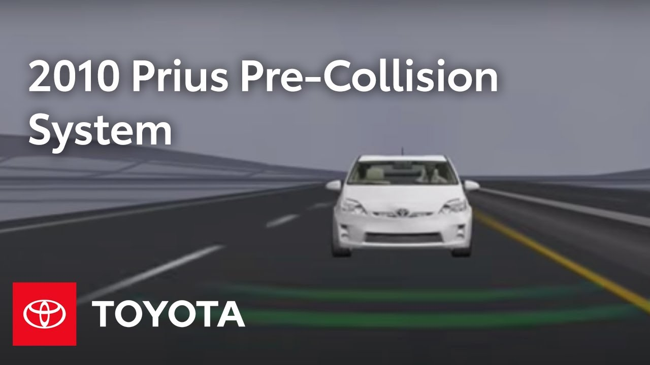 2010 Prius How-To: Pre-Collision System (PCS) | Toyota