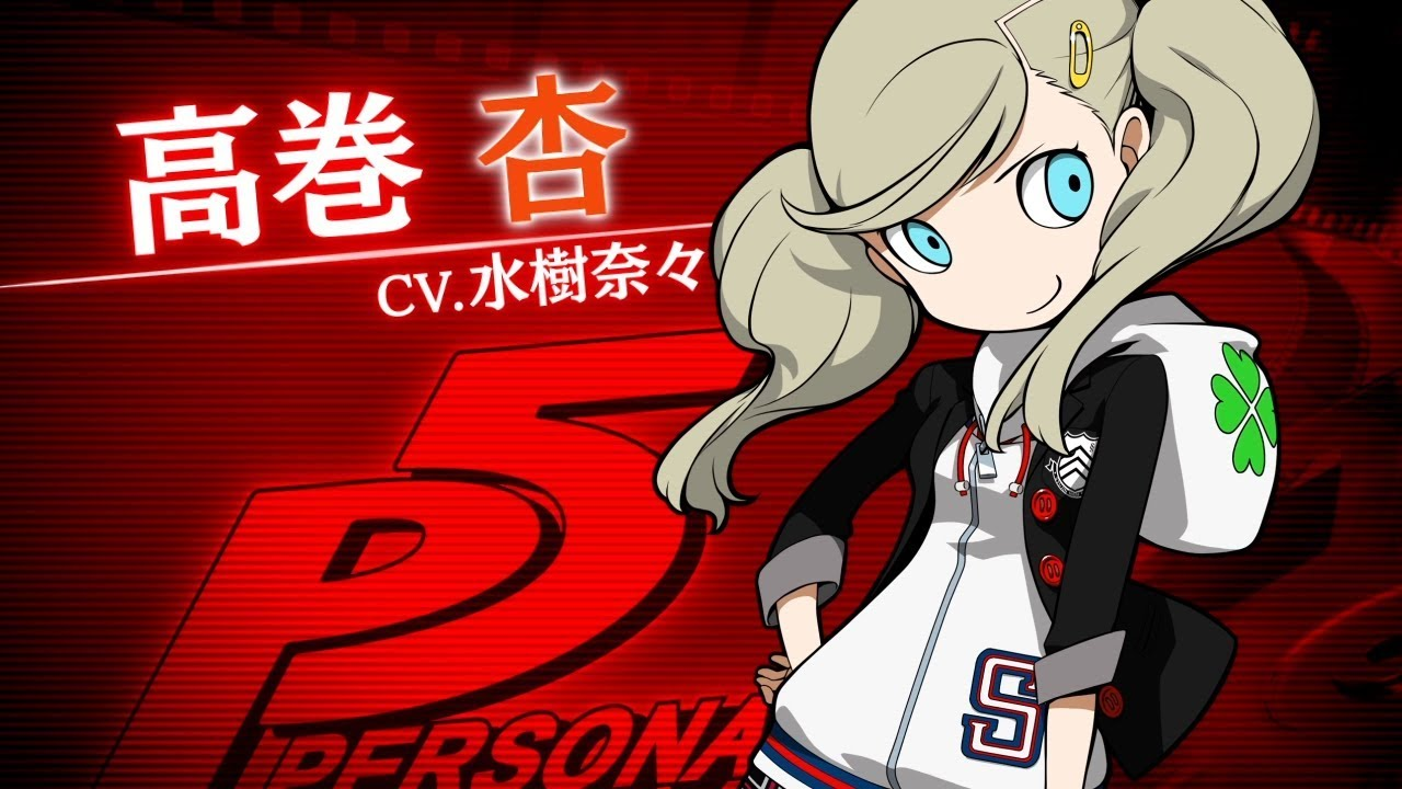 Persona Q2 Game's Video Highlights Persona 5's Ann - News