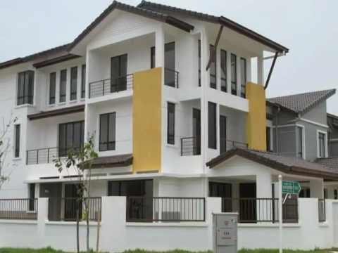 Denai alam verdania design 2 3 storey terrace houses for Terrace house 1