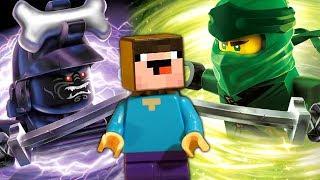 БРАКОВАННЫЕ ИГРУШКИ ? Лего Ниндзяго vs LEGO Movie 2 - НУБик Майнкрафт Мультики и Анимация