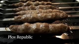 Шашлык в духовке Люля кебаб в духовке Простые рецепты cooking