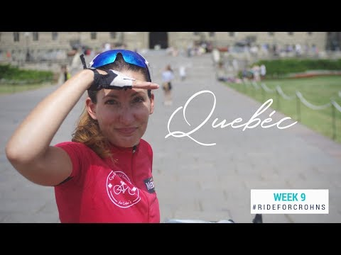 Bonjour Quebec | Bike Touring |Cycling Across Canada for Crohns Week 9