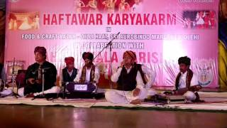 nusrat fateh ali khan kehna galat galat live by master zakir beautiful voice of this child