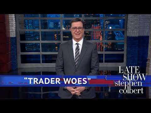 Stephen Colbert doesn't think Trump is winning his China trade war, but he knows who's losing