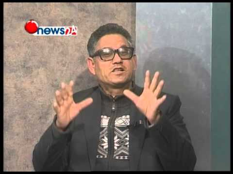 Hot discussion about upper karnali hydro project by TV Journalist  Sangam Baniya.