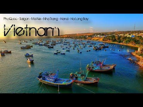 Vietnam // Phu Quoc - Saigon- Mui Ne - Tha Trang - Hanoi - Ha Long Bay // GoPro + Phantom // Part 3