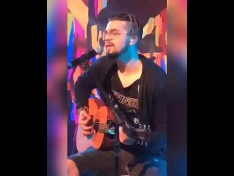 """Luan Santana faz cover de """"Photograph"""" Ed Sheeran durante gravação do FANTÁSTICO 1312"""