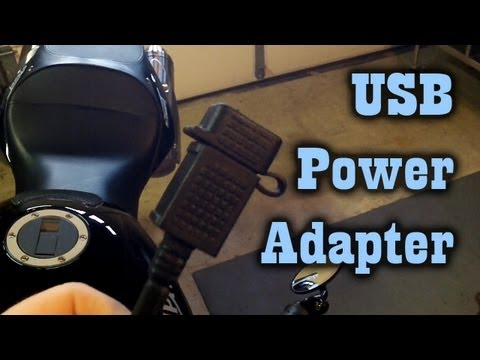 Installing USB Power Adapter on My Motorcycle- Triumph Street Triple
